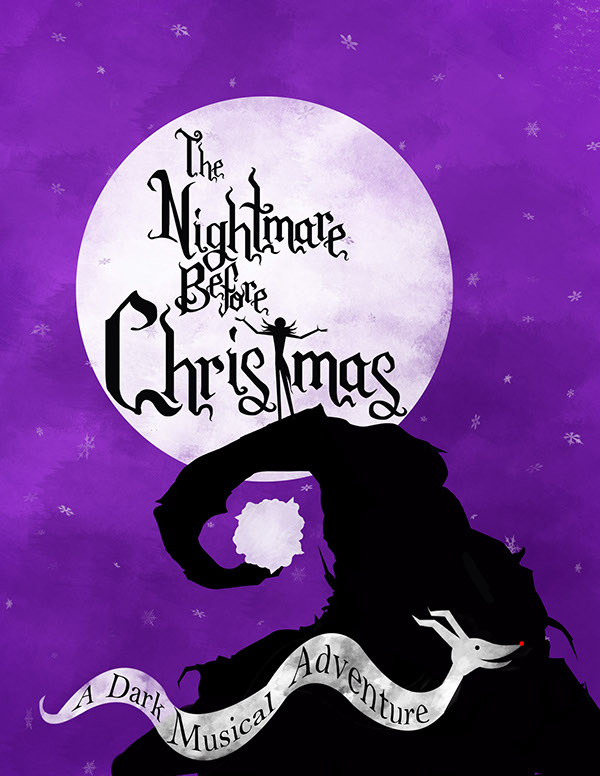 Lobby Card for my Nightmare Before Christmas Broadway Muscial Campaign ...