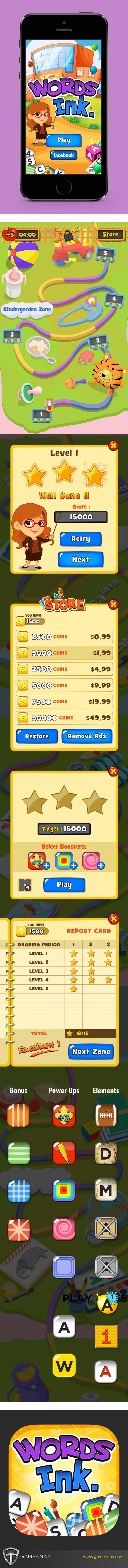 mobile gaming Gaming Games UI iphone iPad puzzle