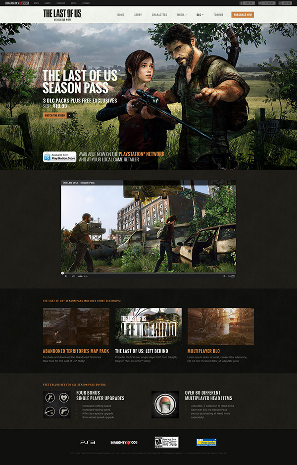 The Last Of Us Official Site On Behance - The last of us abandoned territories map pack