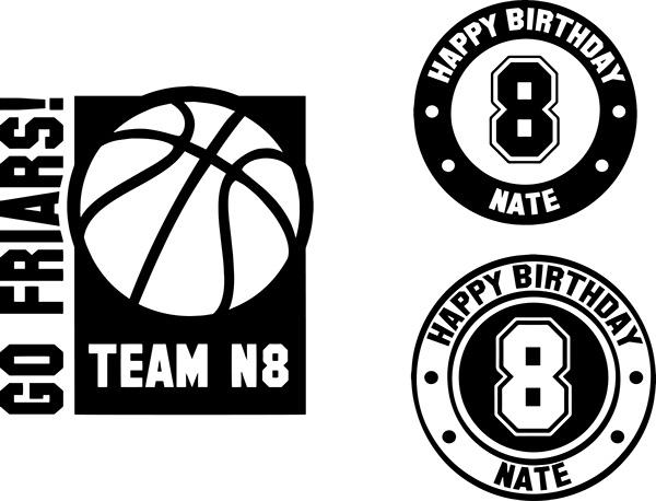 Basketball Graphic Designs Graphic Design
