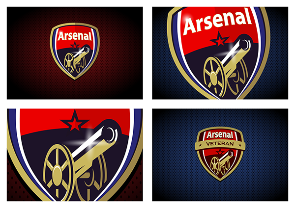 Arsenal Fc Logo: ARSENAL FC RE-LOGO + ANIMATION On Behance
