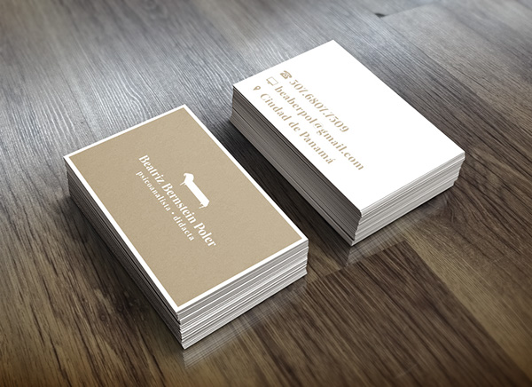 Business Cards On Scad Portfolios