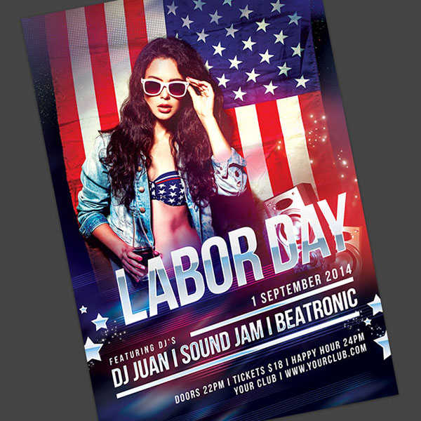 Labor Day Flyer On Behance