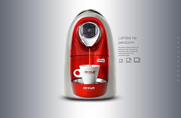 AMA ama caffe ama capsule ama albania html5 css3 scroll