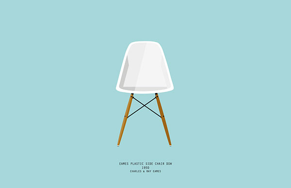 Iconic Chairs On Behance
