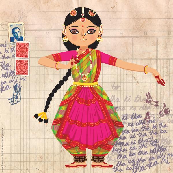 rukmini dances the bharatanatyam on behance