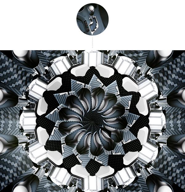 toyota rav4 tablet interactive kaleidoscope automotive