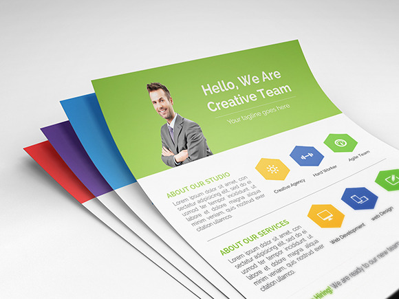 Cleanhex - Clean Corporate Flyer