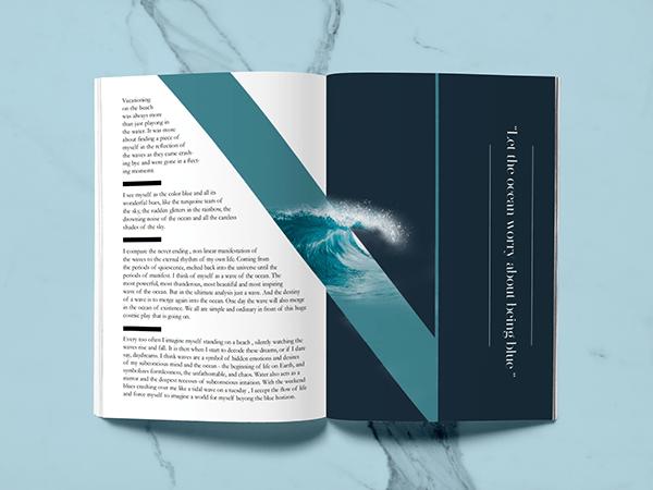 personality catalog- publication design