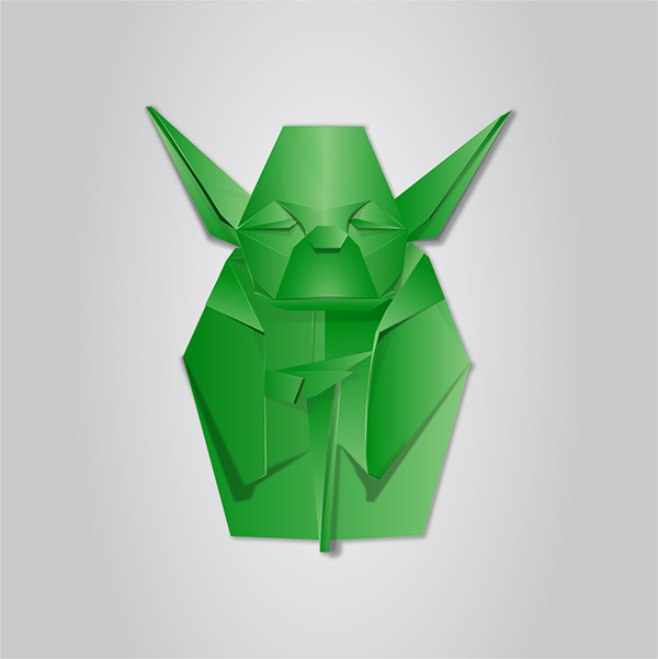 Origami Vector Illustration On Behance