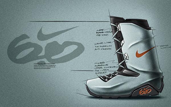 Antología Visión general sopa  Nike 6.0 snowboard boot concept on Behance
