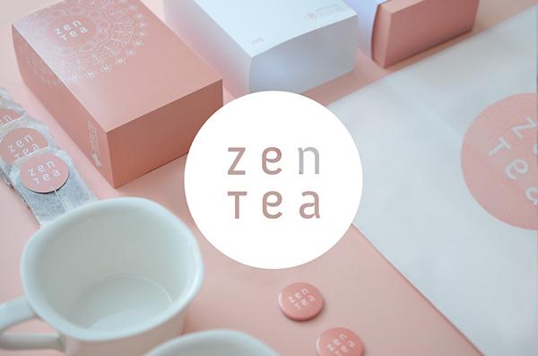 Zen Tea  Packaging zen tea peace Harmony  jasmine lemongrass passion Fruit stationary konrad clear pattern Konrad Sybilski