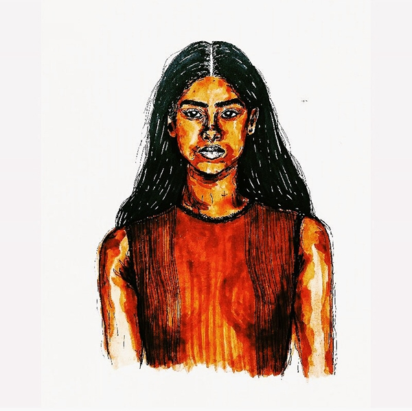 Imaam Hammam Illustration On Pantone Canvas Gallery