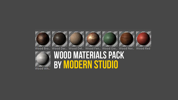 Wood Materials Cinema 4D Preset on Student Show