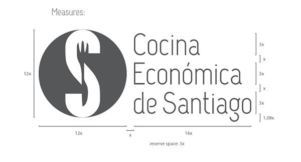 Cocina Economica De Santiago Re Branding On Behance