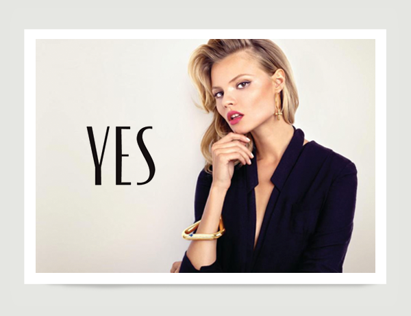Yes Jewelry Brand On Behance