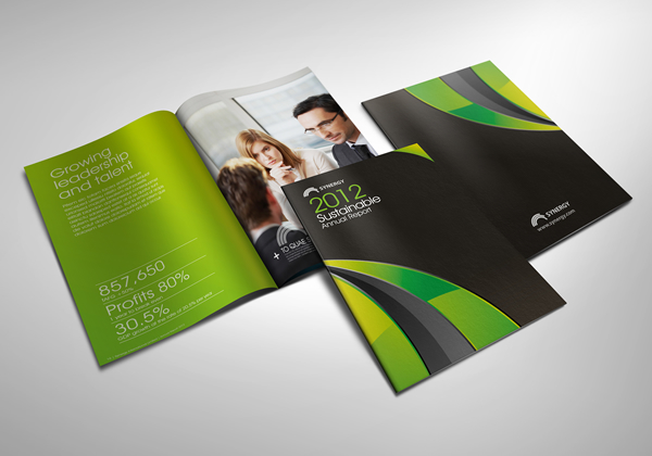 Sustainable Annual Report 2012 on Behance
