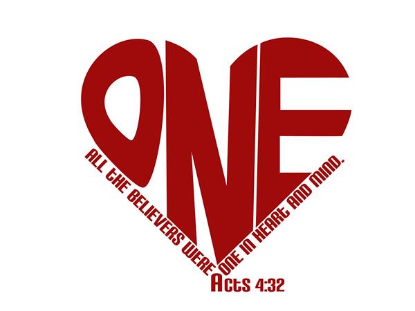 One Heart Ministry Logo on Behance