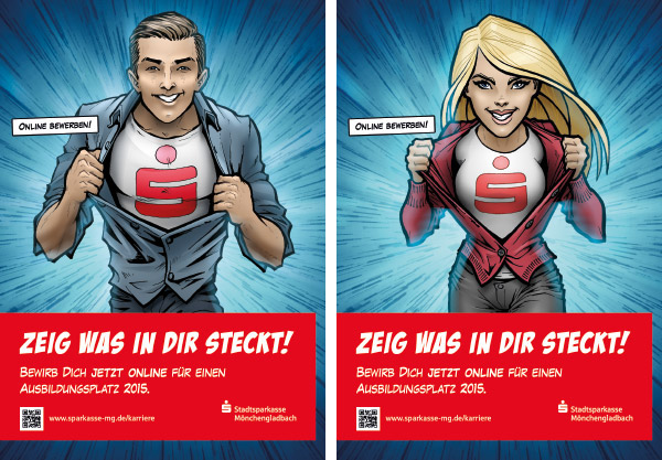 SuperHero Dc Comics step by step artwork coloring process