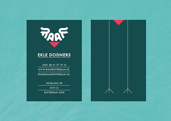 raaf loopstra businesscard Website Logo Design Rotterdam
