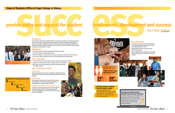 Education,annual report,student life,The Sage Colleges