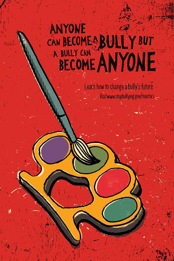 """Mentoring Bullies"" Poster Series on Behance"