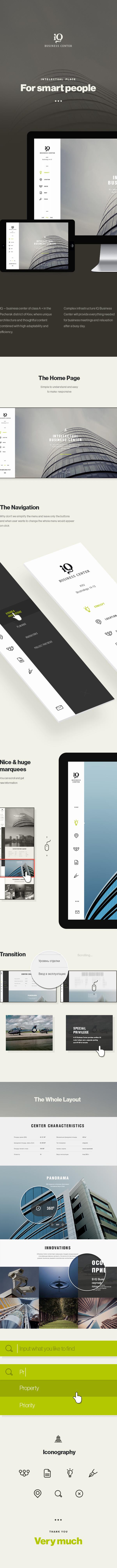Web Responsive business visual design center Layout mobile ukraine usa interaction Website site ux