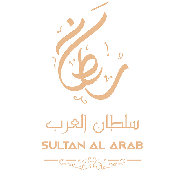 Sultan al arab arabic calligraphy logo and branding on Calligraphy logo