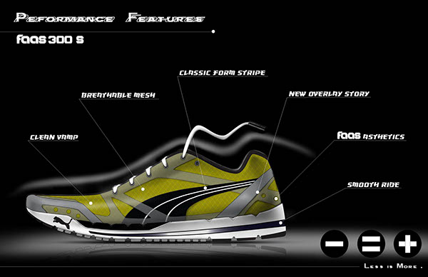 Character Design Internships Nyc : Running shoe puma internship project on risd portfolios