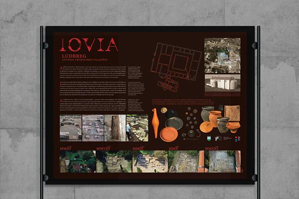 archeology Iovia ludbreg wine design