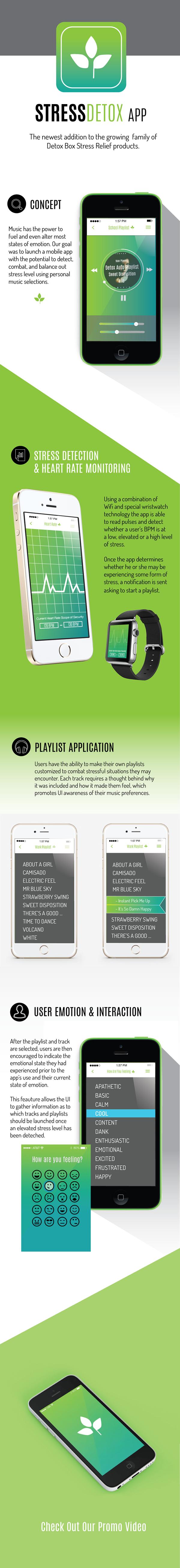 detox app detox box stress relief app stress relief app music app playlist app