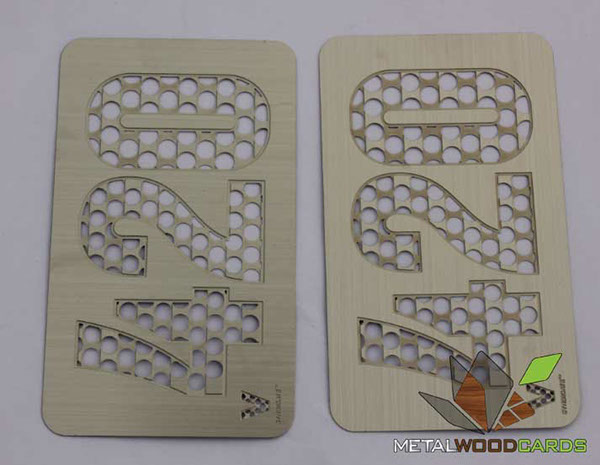 420 Custom Metal Cut Out Business Card