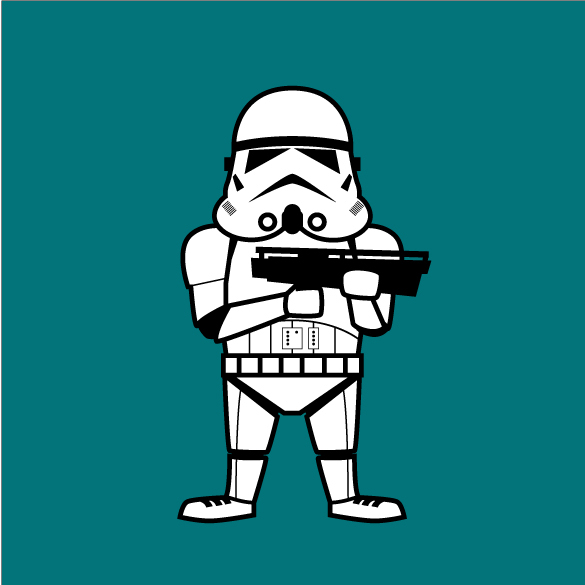 Imperial StormtrooperLucasfilm Logo Vector