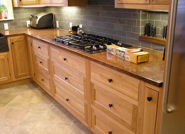 Bookswinefamily: Birch Kitchen Cabinets 2 Images