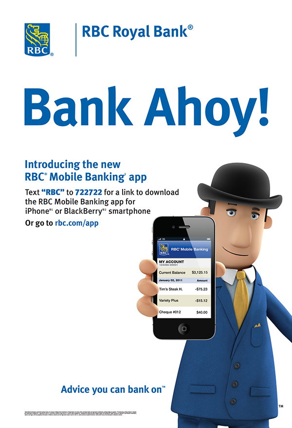 how to read bank info rbc transit
