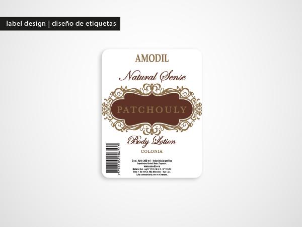 Pack tag Label natural Sense amodil naturel lavanda patchouly frutos lily valley fresias design labels