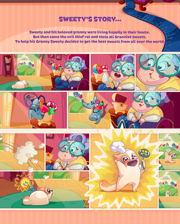 Game art - Sweety kitty
