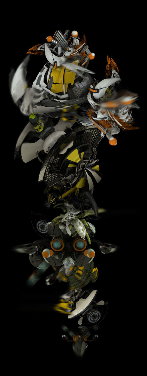 qnq aujik abstract motion tracking 3ds max CGI Syntheyes