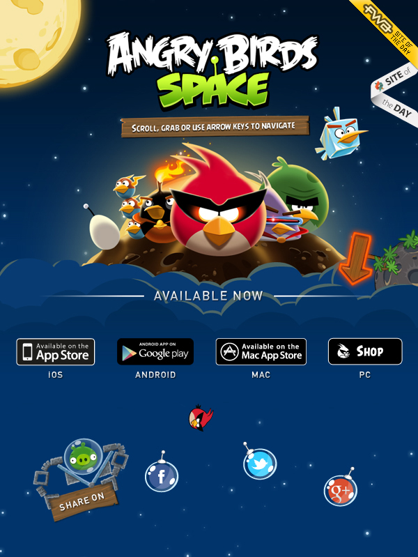 angry birds space lunar launcher - photo #36