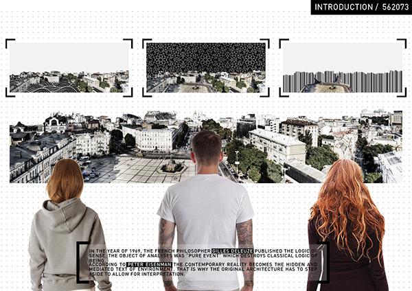 augmented reality AR QR Code digital city experiment