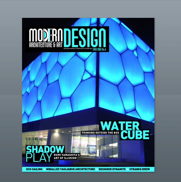 Modern Design Magazine modern design magazine 14 on behance