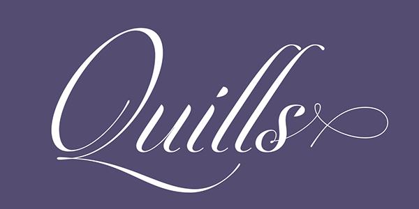 font Typeface caligraphy Pedro Leal DSType DSType Foundry Script Opentype