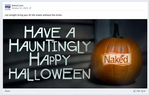 naked juice Coconut design contest facebook app
