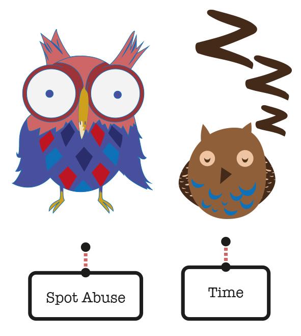 KSCB squirrel owl Robbin