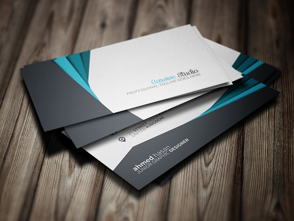 business card print template psd free download card business creative graphic cool simple