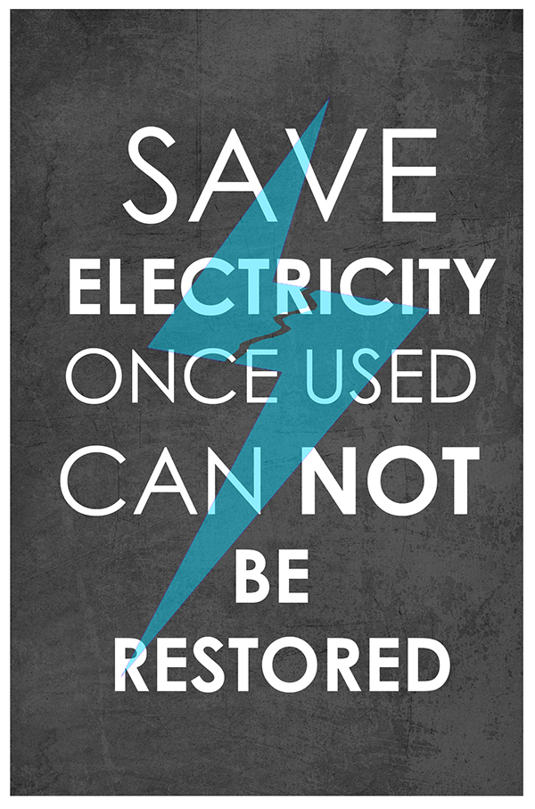 save electricity poster Posters and stickers for your workplace to increase employee engagement in  energy saving at work.