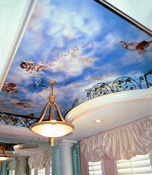Living Room In Venice Fl: Cloud Murals On Behance