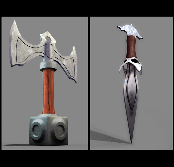 concept art digital painting modelling texturing lighting compositing rigging 3D