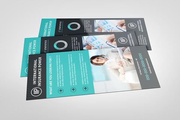 Business Rack Card Template on Behance – Rack Card Template