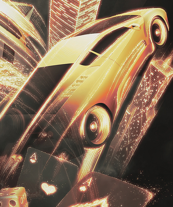 Webdesign poster print advert Internet drink energy drink Space  night High Life gold disco lights